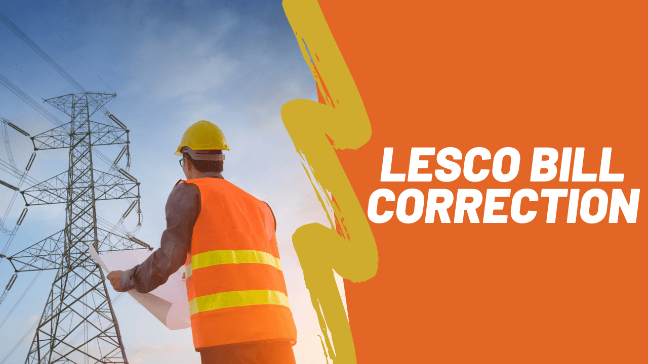 lesco bill correction