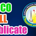 Lesco Bill Check Online - Electricity Bill Check
