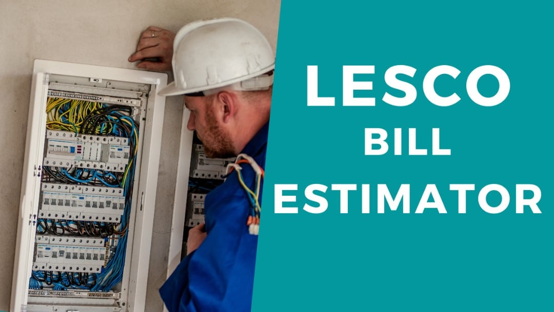 LESCO Bill Estimator