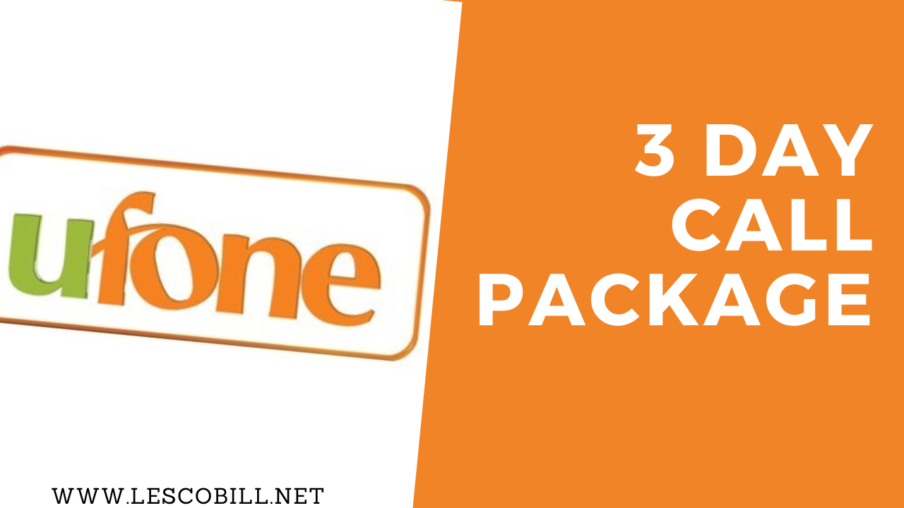 Ufone 3 Day Call Package