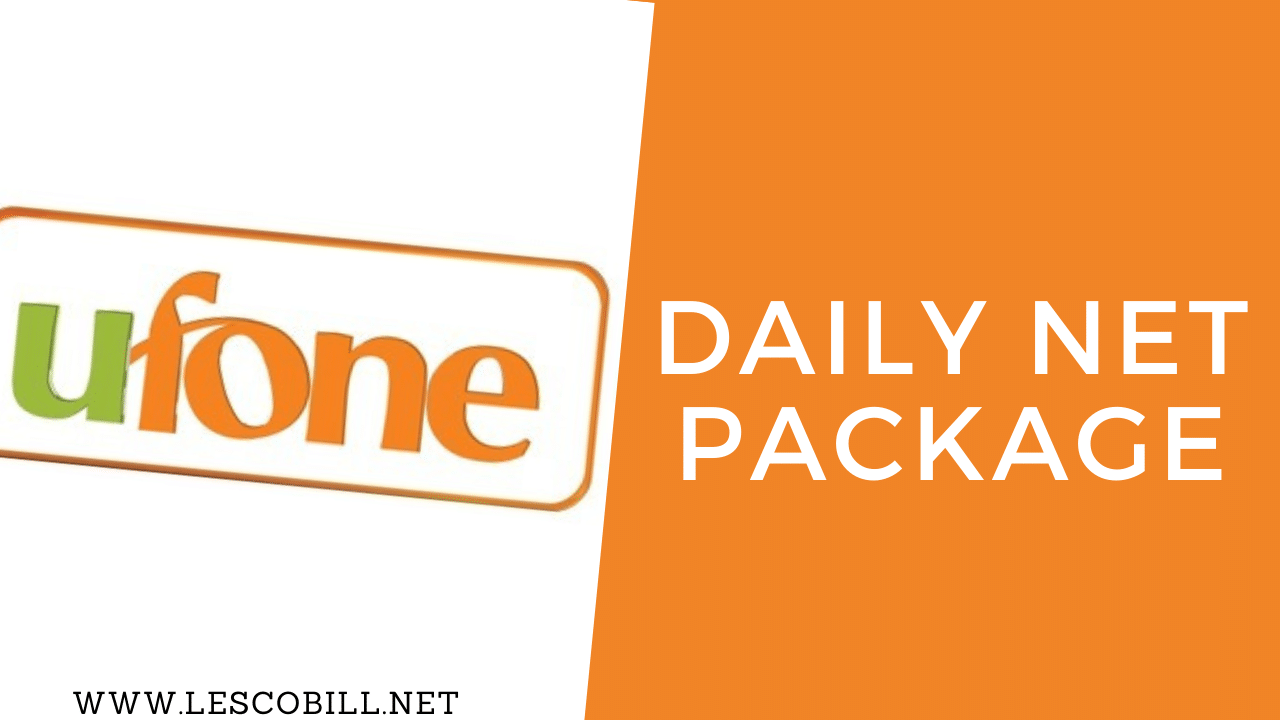 Ufone Daily Net Package