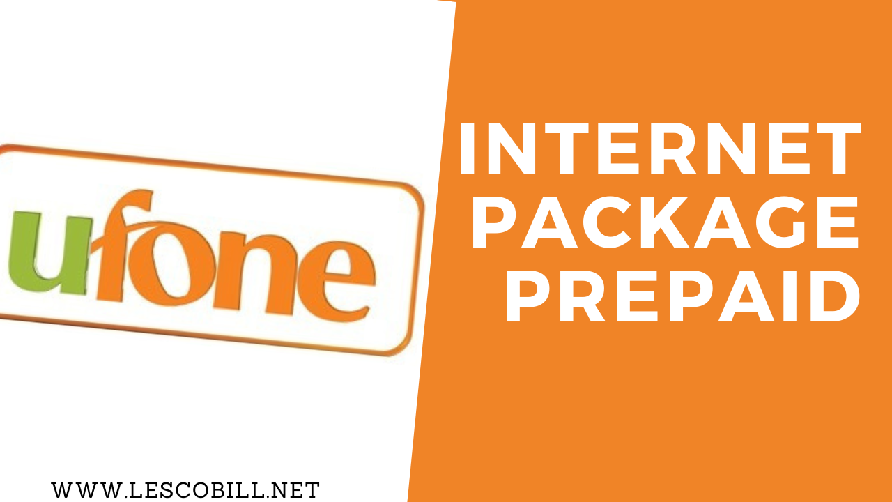 Ufone Internet Package Prepaid