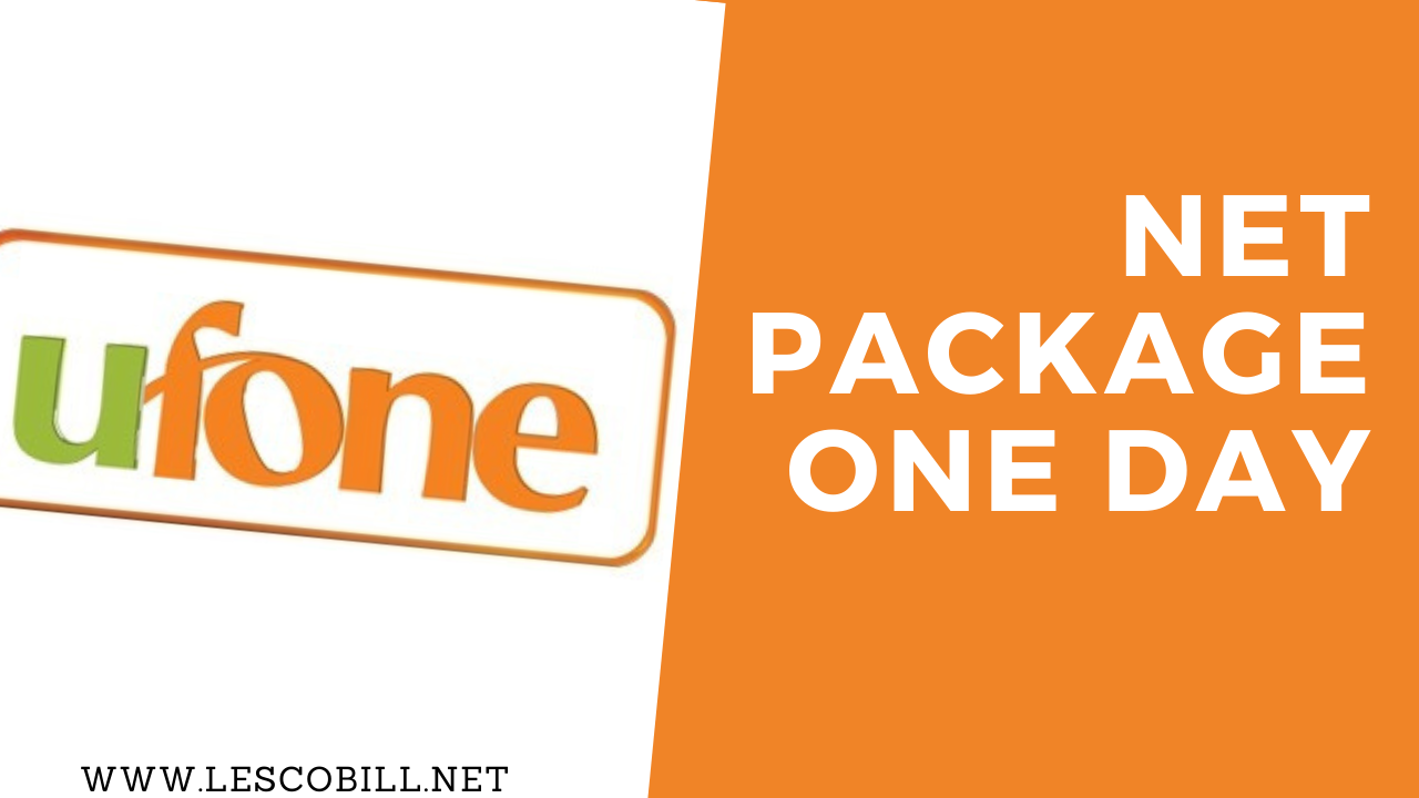 Ufone Net Package One Day