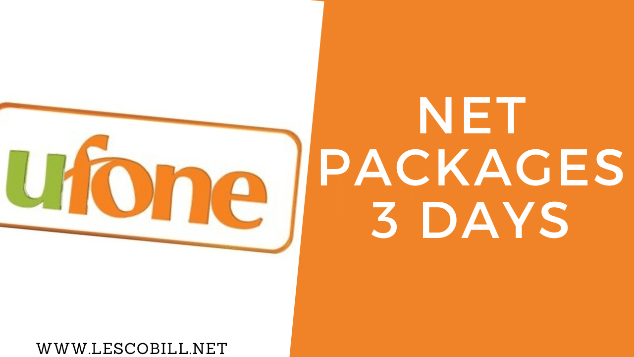 Ufone Net Packages 3 Days