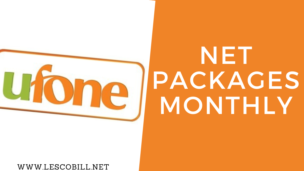 Ufone Net Packages Monthly