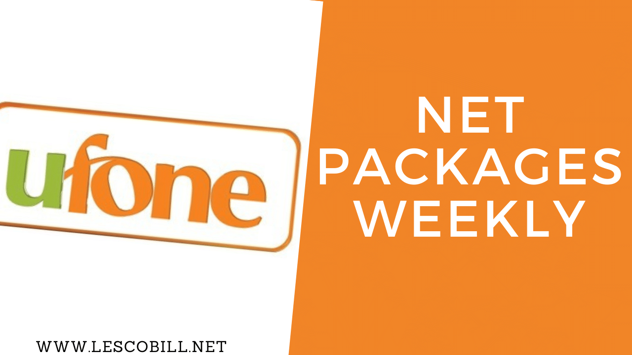 Ufone Net Packages Weekly