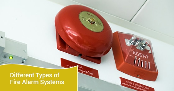 How many types of fire alarms are there?