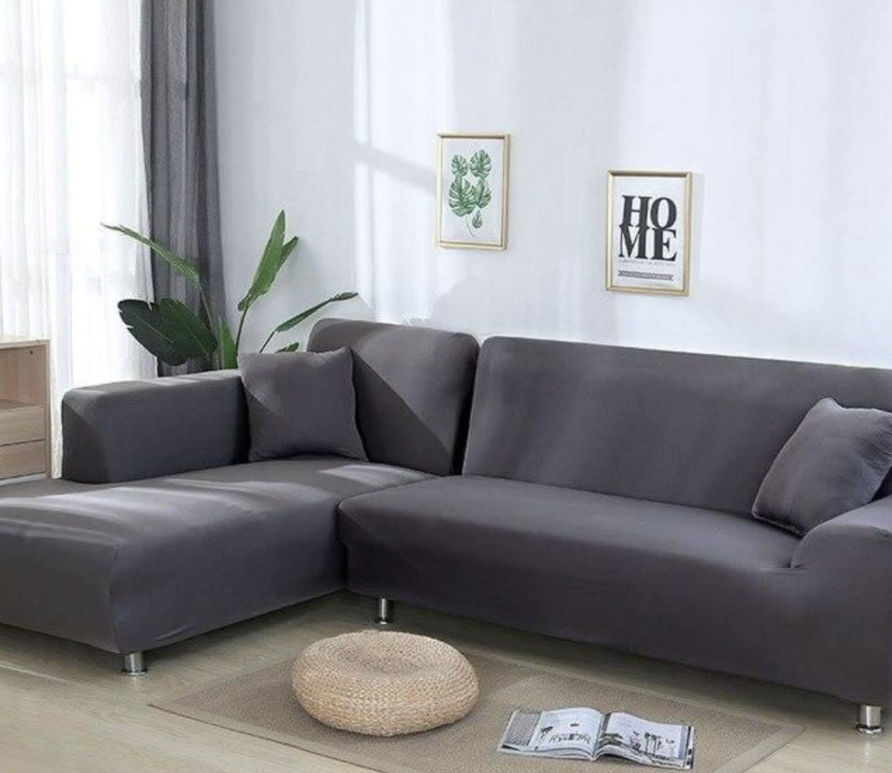 Discover Secrets to Maintaining L-Shaped Couch Covers So that It Stays As Good As New